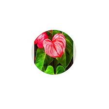 Cute Tropical island Mini Button