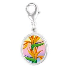 Birds of Paradise with Pastel Rainbow Charms