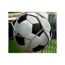 Soccer Goal Throw Blanket