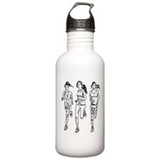 Three female runners Water Bottle