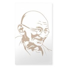Strk3 Gandhi Rectangle Decal