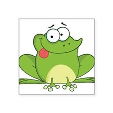 Silly Frog-2 Sticker