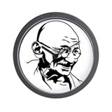 Strk3 Gandhi Wall Clock