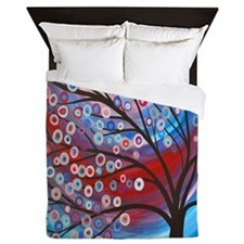 Artistic Tree Queen Duvet