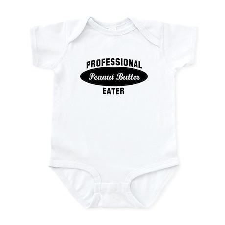 Pro Peanut Butter eater Infant Bodysuit