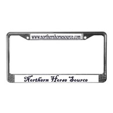 Northern Horse License Plate Frame
