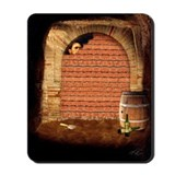 Cask of Amontillado Mousepad