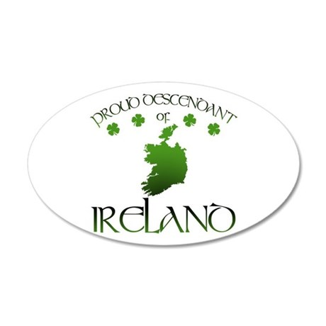 Ireland pride Wall Decal
