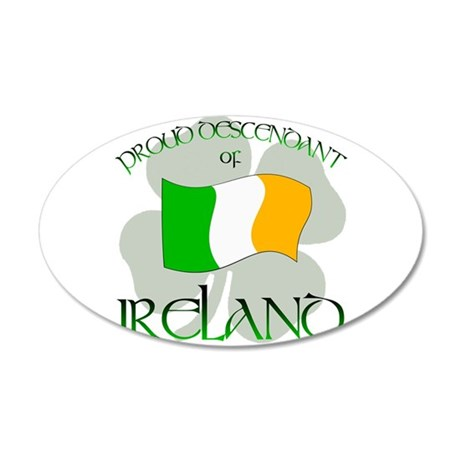 Ireland pride 2 Wall Decal