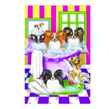 Tub Fulla Papillon BG Postcards (Package of 8)