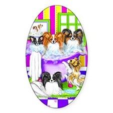 Tub Fulla Papillon BG Oval Decal