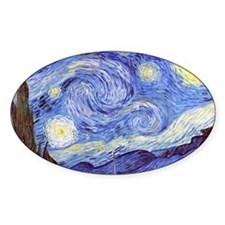 Cute The starry night Decal