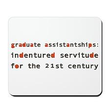 Graduate Assistantships Mousepad