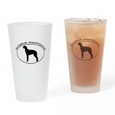 SCOTTISH DEERHOUND Drinking Glass