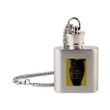 Cute Ebooks Flask Necklace