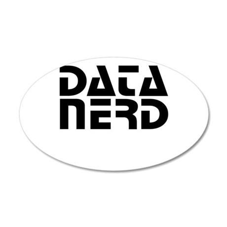 DATA NERD 2 Wall Decal
