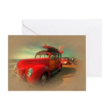 Curtis Fry Classic Woodies Greeting Card