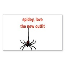 Spiderman 3 Rectangle Decal