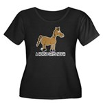 A Horse Says Neigh Women's Plus Size Scoop Neck Da