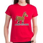A Horse Says Neigh Women's Dark T-Shirt