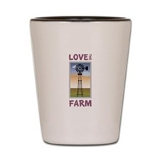 Love The Farm Shot Glass