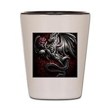 Love dragon  Shot Glass