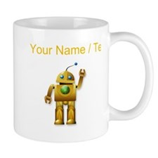 Custom Friendly Robot Mugs