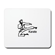 Karate Kick  Mousepad