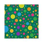 Polka Dots Rainbow Queen Duvet