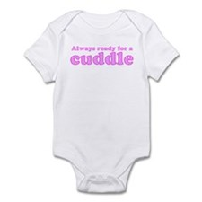 Always Ready for a Cuddle Infant Creeper