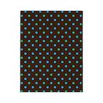 Polka Dots Blue Green Twin Duvet