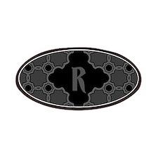 MONOGRAM Gothic Quatrefoil Pattern Patches