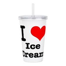 ice cream.png Acrylic Double-wall Tumbler