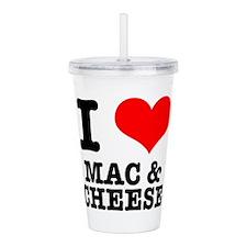 MAC CHEESE.png Acrylic Double-wall Tumbler