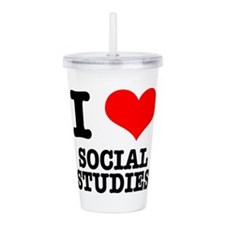 SOCIAL STUDIES.png Acrylic Double-wall Tumbler