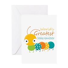World's Greatest Database Administra Greeting Card