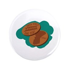 "Pennies 3.5"" Button (100 pack)"