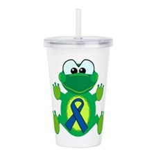 blue ribbon froggy copy.png Acrylic Double-wall Tu