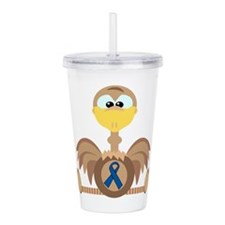 blue ribbon ostrich copy.png Acrylic Double-wall T