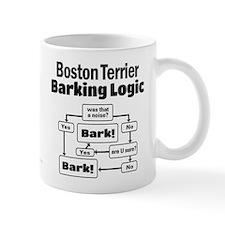 Boston Terrier Logic Small Mug