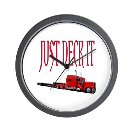 Just Deck It Wall Clock