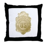 Bureau of Investigation Throw Pillow