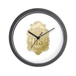Bureau of Investigation Wall Clock