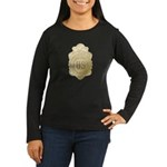 Bureau of Investigation Women's Long Sleeve Dark T