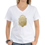 Bureau of Investigation Women's V-Neck T-Shirt