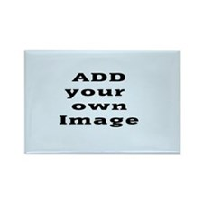 Add Image Rectangle Magnet (100 Pack) Magnets
