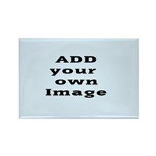 Add Image Rectangle Magnet (10 Pack) Magnets