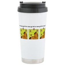 Funny Horses Stainless Steel Travel Mug