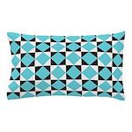Geometric Checkerboard Pillow Case