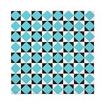 Geometric Checkerboard Queen Duvet